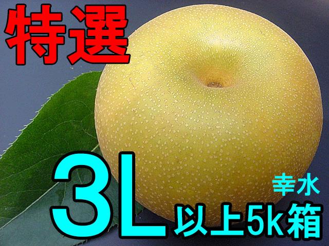 特選3L梨(幸水/豊水/新高/新興)デイリーランキング1位