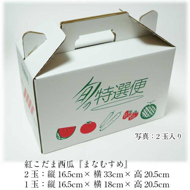小玉スイカ,西瓜,すいか,箱サイズ