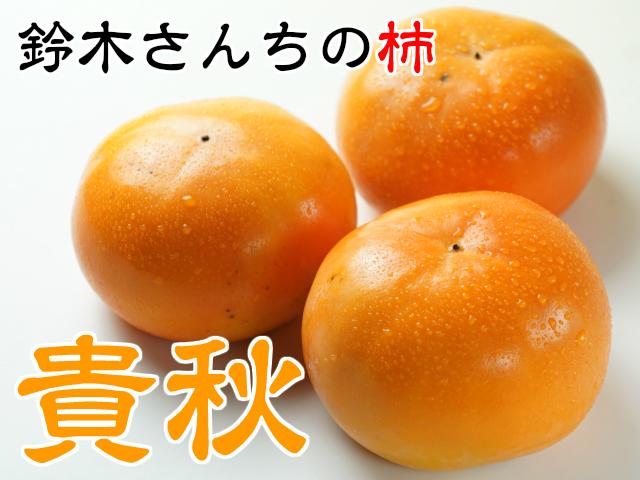 貴秋柿,とっても美味しい柿,鈴木さんちの柿,フルーツ
