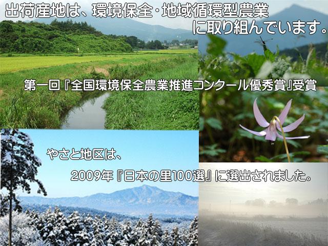 第1回『全国環境保全農業推進コンクール優秀賞』受賞,『日本の里100選』に選出