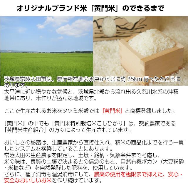 オリジナルブランド米「黄門米」のできるまで。茨城県常陸太田市は、県庁所在地の水戸から北に約25km行ったところにあります。太平洋に近い穏やかな気候と、茨城県北部から流れ出る久慈川水系の沖積地帯にあり、米作りが盛んな地域です。ここで生産されるお米をタツミ米穀では『黄門米』 と商標登録しました。